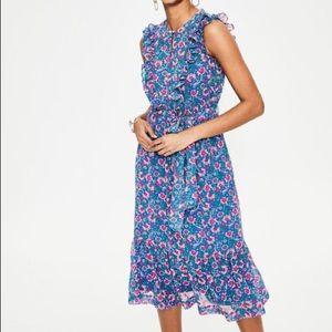 NWT Boden Elise Midi Dress